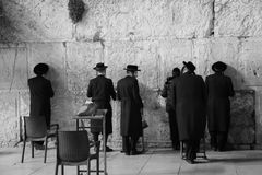 Israel WesternWall Stock Images