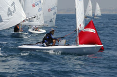 Israel Youth Championship of Yacht Royalty Free Stock Image