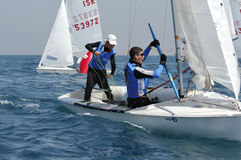Israel Youth Championship of Yacht Royalty Free Stock Photo