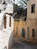 Israel Zefat Alley Royaltyfri Bild