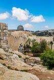 Israele, Gerusalemme Al-Aqsa moschea 4 aprile 2015 Fotografia Stock