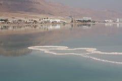 Israele, mar Morto, sale marino Fotografie Stock Libere da Diritti