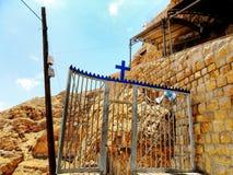 Israele, Medio Oriente, Gerico, supporto della tentazione Immagini Stock