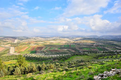 Israelen landskap Royaltyfri Fotografi