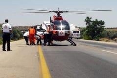 Israeli Air ambulance Stock Image