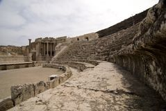 Israeli Amphitheater Royalty Free Stock Image