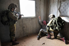 Israeli Army Exercise - IDF Urban Warfare Stock Photography
