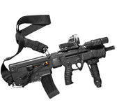 Israeli assault rifle Tavor Stock Images