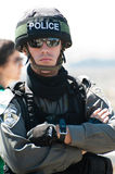 Israeli Border Police Soldier Stock Photography