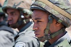 Israeli Border Police Soldier Stock Image