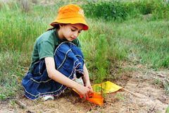Israeli Children Celebrating Tu Bishvat Jewish Holiday Food Royalty Free Stock Photo