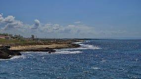 Israeli coast. Near the border with Lebanon Royalty Free Stock Photo