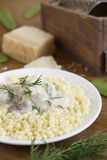 Israeli couscous Stock Images