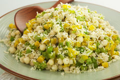 Israeli Couscous Salad Stock Image