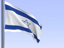 Israeli flag Stock Photography