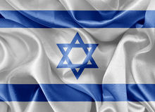 Israeli  flag Royalty Free Stock Photos