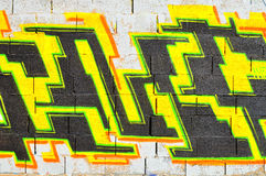 Israeli graffiti. Stock Photos