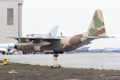 Israeli Hercules in desert camoflage Stock Photos