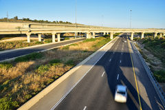 Israeli highway. Royalty Free Stock Photo