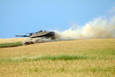 Israeli IDF Tank - Merkava Royalty Free Stock Photo