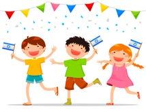 Israeli kids Royalty Free Stock Image