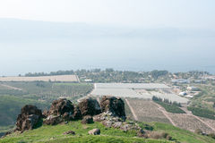Israeli landscape near Kineret lake Royalty Free Stock Photography