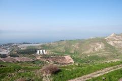 Israeli landscape near Kineret lake Royalty Free Stock Image