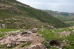 Israeli landscape near Kineret lake Royalty Free Stock Photos