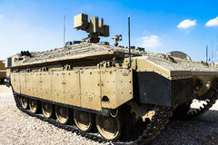 Israeli made Namer Heavy Armored Personnel Carrier. Latrun, Israel Royalty Free Stock Images