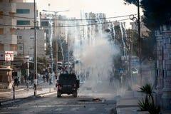 Israeli military occupation in Bethlehem Royalty Free Stock Image