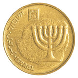 10 Israeli New Agora coin Royalty Free Stock Images