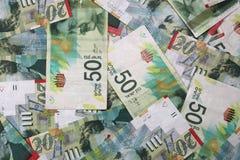 Israeli New Shekel Banknotes royalty free stock image