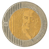 10 Israeli New Sheqel coin - Golda Meir Edition Stock Photography