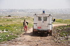 Israeli Occupation in Palestine Stock Photography