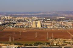 Israeli oil refinery in Haifa, Israel Royalty Free Stock Photo