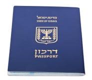 Isolated Israeli Passport Royalty Free Stock Photo