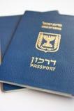 Israeli passports Royalty Free Stock Photography