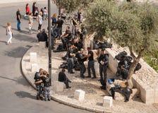 Israeli police in Jerusalem Stock Image