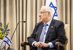Israeli President Reuven Rivlin Royalty Free Stock Photo