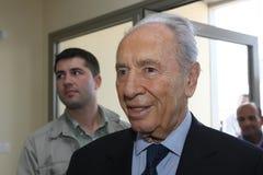 Israeli President Shimon Peres. Stock Images