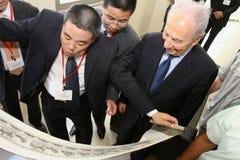 Israeli President Shimon Peres. Stock Image