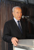 Israeli President Shimon Peres. Stock Photography