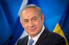 Israeli Prime Minister Benjamin Netanyahu Stock Photo