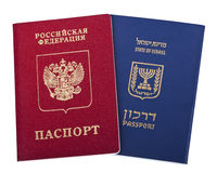 Double Nationality - Russian & Israeli Royalty Free Stock Image