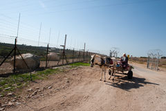 Israeli Separation Barrier Royalty Free Stock Photos