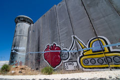 Israeli Separation Wall Royalty Free Stock Image