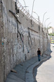 Israeli Separation Wall Royalty Free Stock Photography