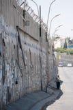 Israeli Separation Wall Royalty Free Stock Photography