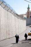 Israeli Separation Wall Stock Photography