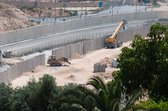 Israeli Separation Wall Stock Photos